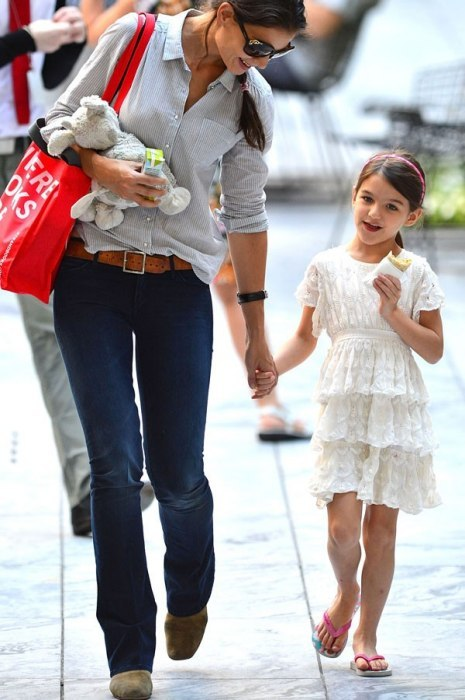 vanityfair:  Tiny Trendsetters From Suri Cruise to the Beckham brood, see who among the discriminating members of the elementary-school set tops our list of best-dressed celebrity kids.