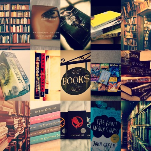 klausing:   Books are what keep me sane ; My favourite books.