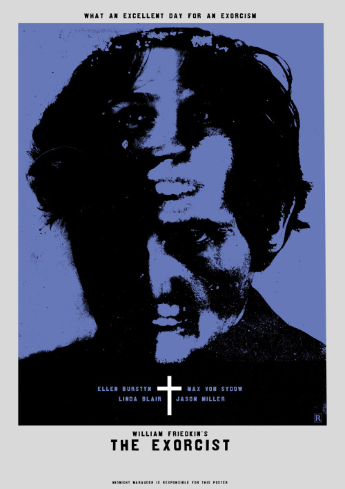 The Exorcist poster By Midnight Marauder.