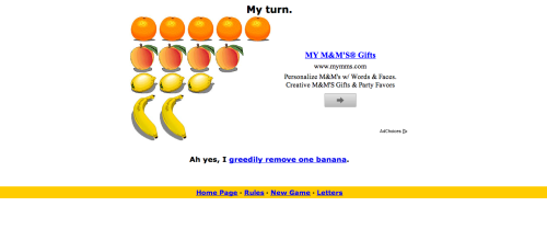 I looked up fruit game on google and this was the result :(