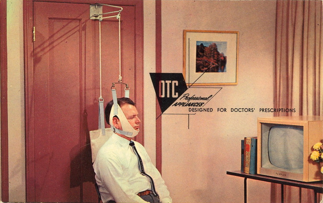 NEED HEAD GEAR, DOCTOR?     Whether for extension or suspension, Doctor…we're equipped to take care of your head halter needs…we can supply complete home traction kits.
