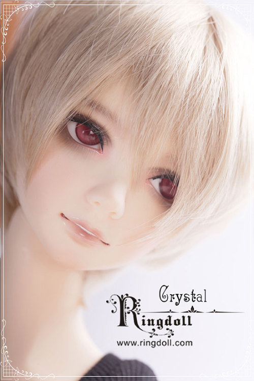 "64cm - Ring Teenager boy - ""Crystal"" Crystal comes with wig and eyes. Resin Options: normal or white skin resin Additional Options: face-up"