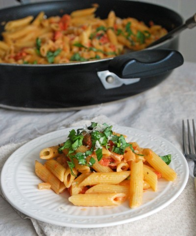 in-my-mouth:  Penne with Vodka Sauce