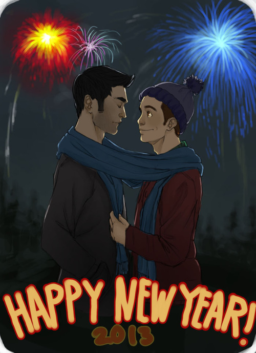 HAPPY NEW YEARS!  I almost didn't finish this but I can't end the year being a lazy asshole like usual so  should I have uploaded this earlier