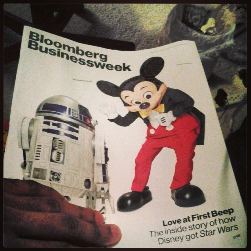 Check this out disney is surely taked star wars #disney #starwars (at Denton,Tx)