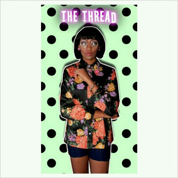 #photoshoot #theThread #boutique #shirt and #shorts are #forSale #Model : #synthiaSumlin @farronfarron #makeupandhair :Me #stylist :me