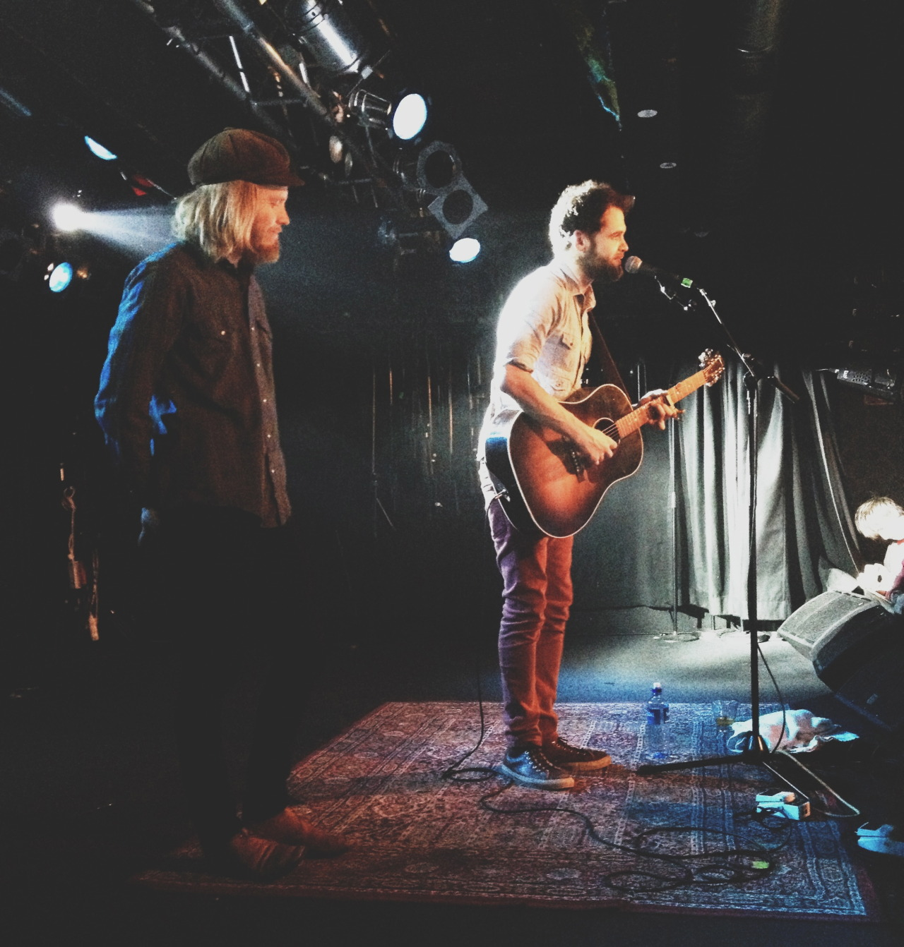 captureawildheart:  Monday. I went to Stockholm the see Passenger and Stu Larsen preform at Debaser Slussen. Incredible.