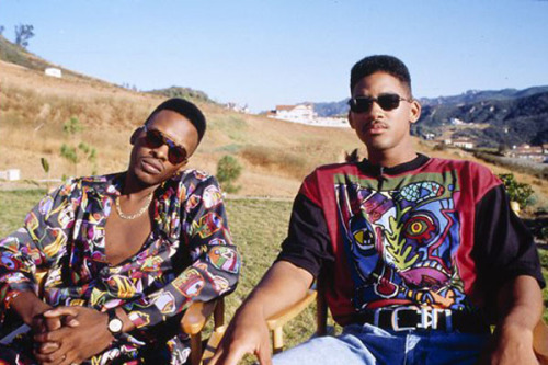 the-money:  Will Smith & DJ Jazzy Jeff old school rap and hip hop blog