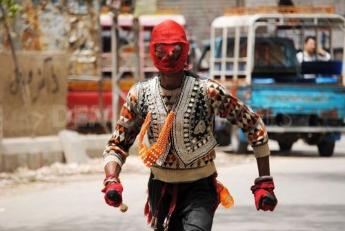 Spider-man comes to Hyderabad