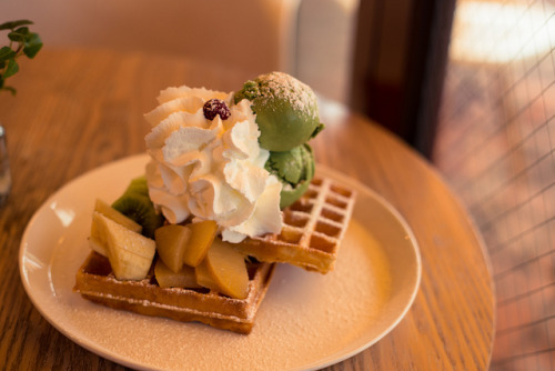 ilikeasianfood:  Waffle by stuckinseoul on Flickr.