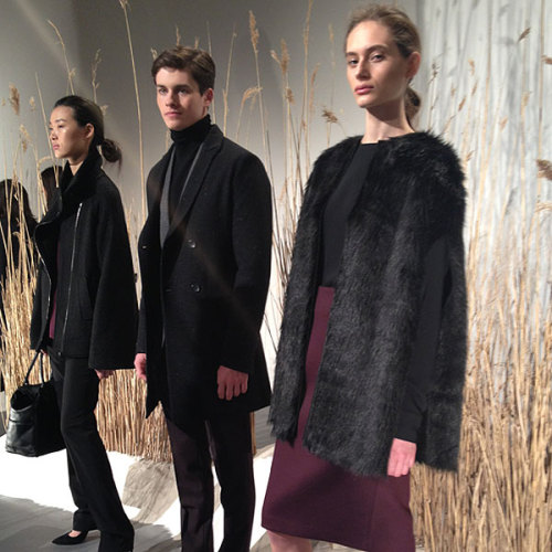 Fur for fall at Calvin Klein. Photographed by Julia Rubin.