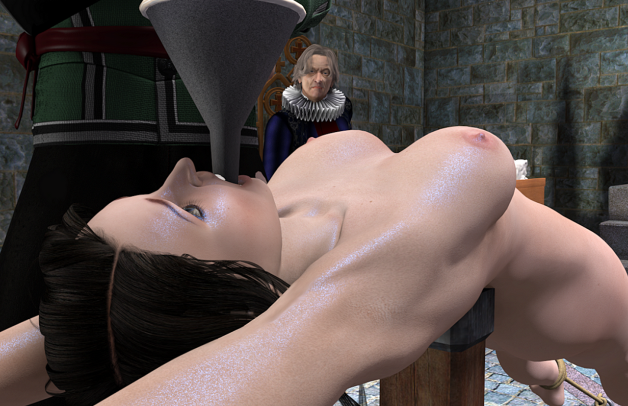 Medieval torture of women 3d naked clips