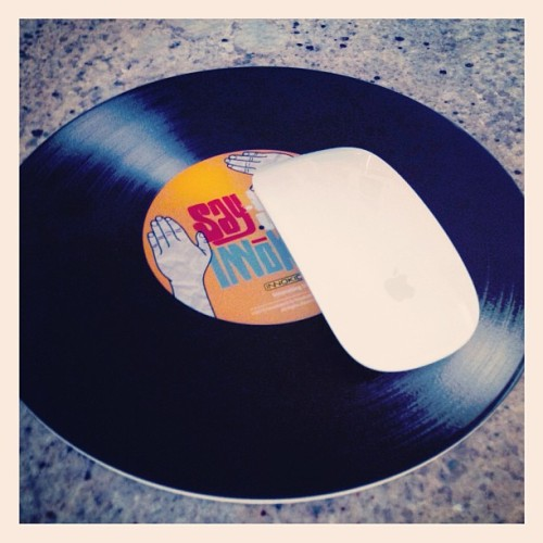 #LP #LongPlay #Record #MousePad #Apple #Mac #CoolStuff