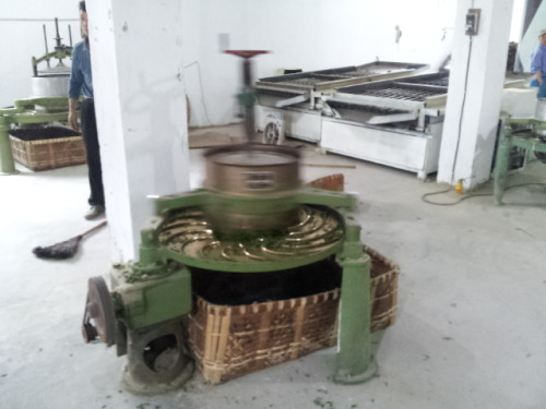 Evolution of Tea Rolling Rolling the tea leaf (rou nian) is an important process in tea making for both our Qimen Black tea and our Mao Jian green tea. At a local tea museum, we saw two earlier versions of tea rolling machines which were fascinating to compare to the most common machine used in smaller scale production workshops (far right). _______________________________________________________________ If you enjoyed this article, sign up for Tranquil Tuesdays' newsletter to  Explore the stories behind each of Tranquil Tuesdays teas and teaware Travel with Tranquil Tuesdays seeking the best teas and teaware in China Learn the historical and cultural elements that make Chinese tea and teaware so unique Sign up for Tranquil Tuesdays' newsletter now!