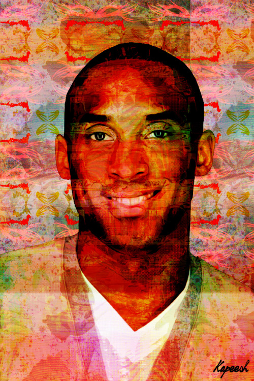 kvpeesh:  24. (@KobeBryant art) by Kapeesh