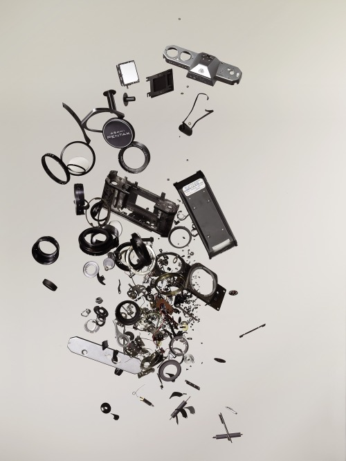 disassembled pentax spotmatic f  [todd mclellan]