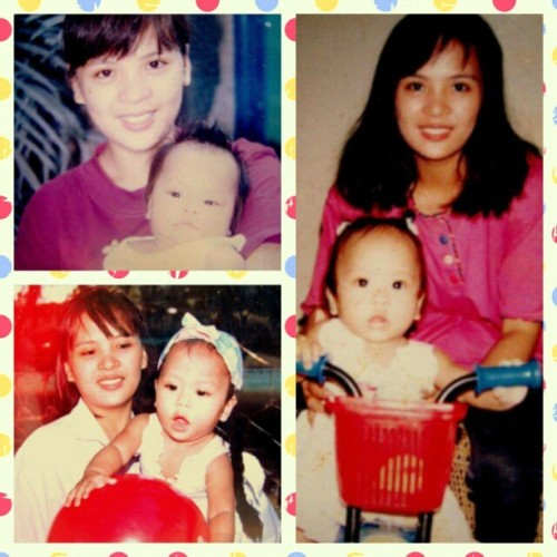 Happy Mother's Day to my forever young and gorgeous mama! Naks! :D