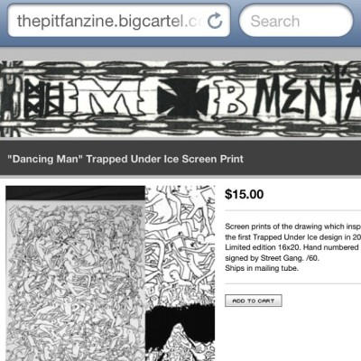 The webstore is now up and running. Thepitfanzine.bigcartel.com