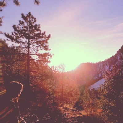 universal-wanderer:  Sunrise somewhere in Colorado during an overnight backpacking trip.
