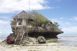 The Rock Restaurant in Zanzibar, Tanzania.   submitted by: herwanderlustjournal, thanks!