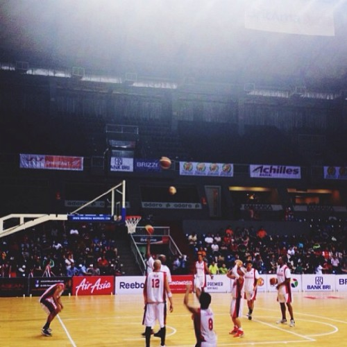 🏀🏀  #ASEANBasketballLeague (at Britama Arena)