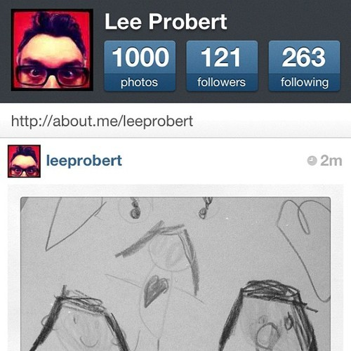 1000 photos on Instagram! #milestone