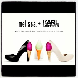 Obviously need these designed by #KarlLagerfeld for #Melissa #icecream #heels #shoes #classy #chic #fashion #fashionwhore #EAVintage #CaraDelevinge @caradelevingne you crushed it! #pastel #mint #fw2013 #glitter #sassy #igfashion #supercute #punkrock #streetstyle #designer #collaboration #hipsterfashion #hipster