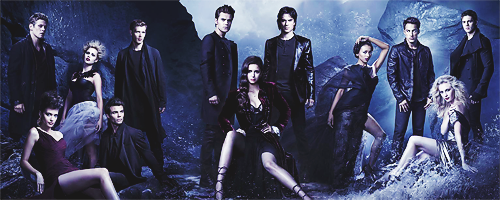 The Vampire Diaries Season 4 Promotional Photos - Trio & Cast   Wallpapers that will burn off your screen #beware