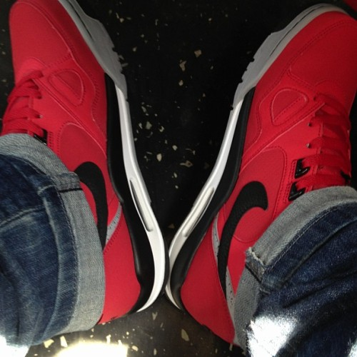 New kicks 😍 #nofilter #nike #flight #kicks #sneakerhead #shoes