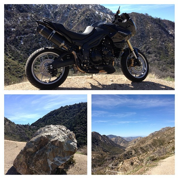 The Oscars - a perfect day to get the fuck outta dodge and ride the mountains of LA to clear my mind.