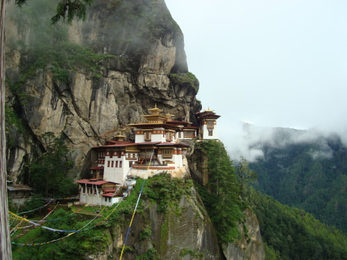 Paro Taktsang, also known as Tiger's Nest. Paro, Bhutan.
