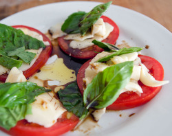 Caprese salad by galoshes on Flickr.