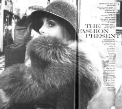 jan ward in furs for vogue