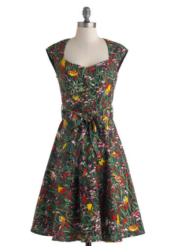 The early bird gets the chirp-worthy spring frocks! Shop the What a Tweet! Dress.