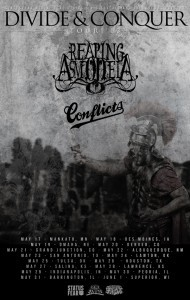 "Reaping Asmodeia ""Divide & Conquer"" Tour DatesReaping Asmodeia have announced dates for their ""Divide & Conquer"" tour. Kansas City's Conflictswil…View Post"