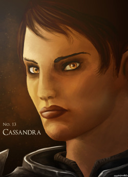 The Dragon Age Ladies Project No. #13: Cassandra