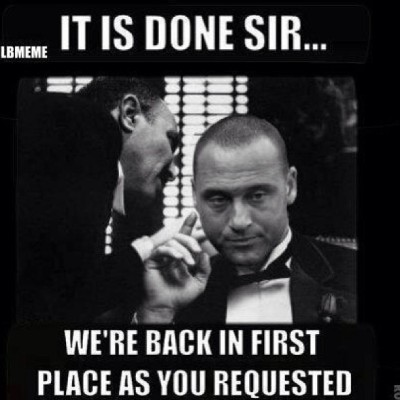 alexuh:  Haha this is great #obsessed #yankees #mlb #thegodfather #derekjeter #captain #baseball #aleast #firstplace