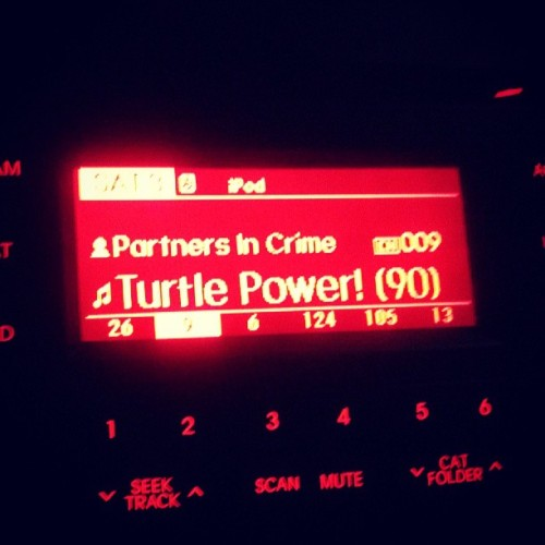 Um…yes! Love that #turtlepower just played on #90son9 epic! #tmnt #1990 #nostalgia #awesomesauce