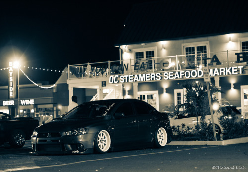 All you can eat Starring: Mitsubishi Lancer EVO X (by RichieMK4Rich)