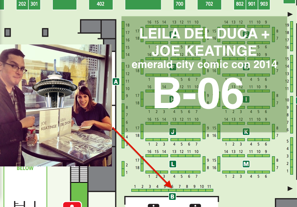 YEAH IT'S THAT TIME OF THE YEAR! Emerald City Comic Con is rolling up this weekend and Leila del Duca + I are rolling up with it, seated at table B-06.  I'm way stoked to sign whatever you wanna bring, but if you're looking to pick some up, I'll have my usual con exclusive deal of both Glory Vol. 1 & 2 for $20 total or cover price separately. Hell Yeah Vol. 1 & Morbius Vol. 1 for cover as well!  I have my absolute last stash of Glory #34 CBLDF variants for sale for $5 personalized and $10 non-personalized. I doubt I'll have any left after this show. Since it's a local-ish con I'm going to have some stuff I never have at shows I fly to. I've got some two buck comics — I found a stash of my rarest Marvel work — an Avengers Assemble issue featuring Captain Americ