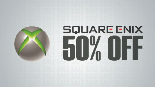 Square Enix is holding a massive Xbox Live sale. Check out the list of goodies here.