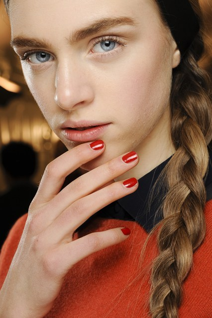 Fall/Winter 2013 trend red nails
