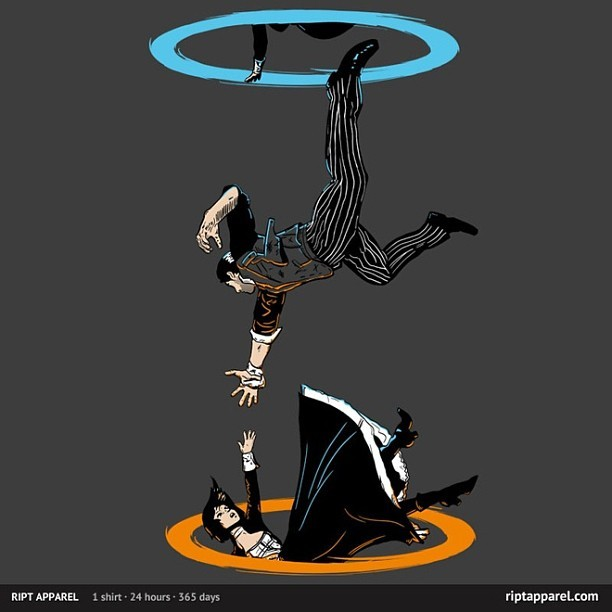 The Infinite Loop by Moysche available today only for $10 only at www.riptapparel.com