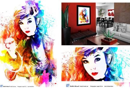 Artwork of Cosplay Monika Lee