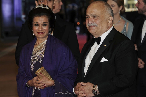 royalwatcher:  Prince Hassan and Princess Sarvath of Jordan