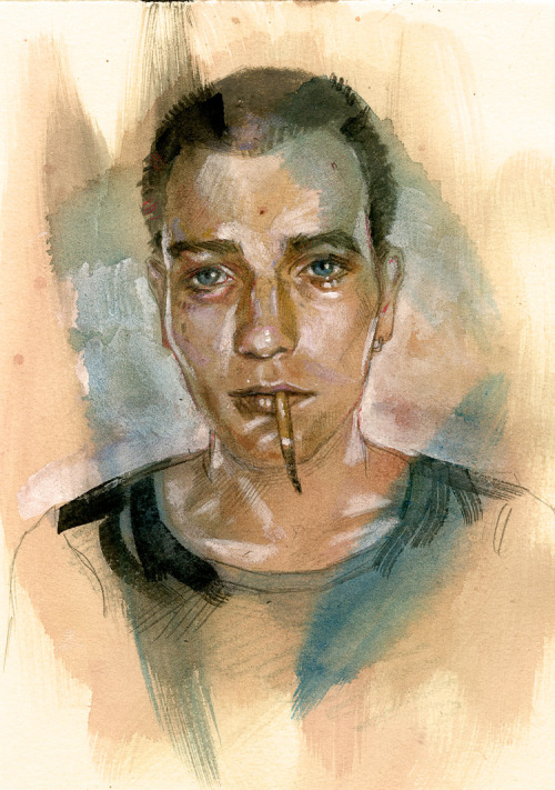 tdylanart:  T. Dylan Moore - Rentonmovie 11 is Trainspotting