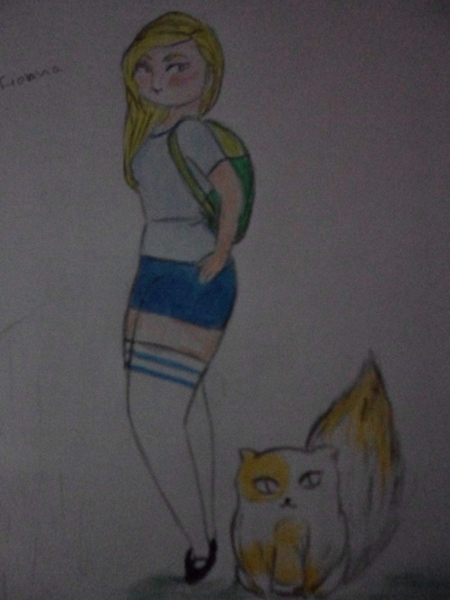 my fionna and cake  ㅇㅅㅇ.. it's better in real life..(ㅎㅈㅎ)""