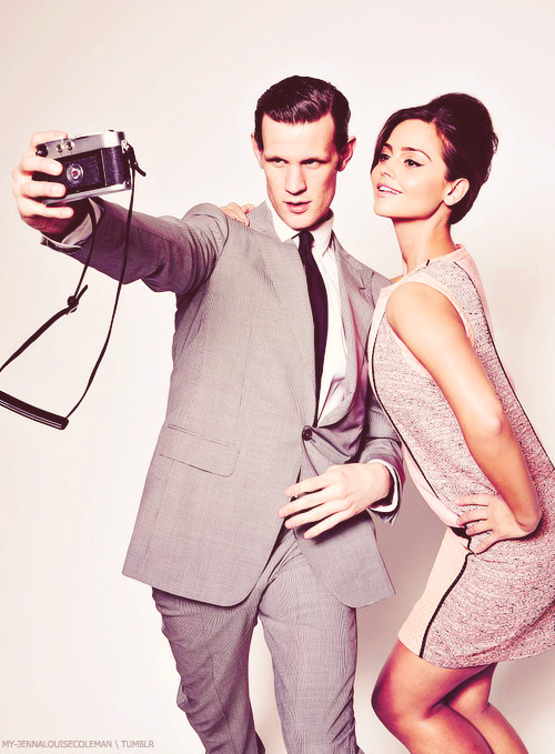 my-jennalouisecoleman:  Jenna and Matt for the Times Magazine