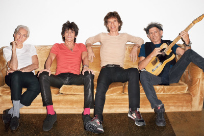 terrysdiary:  The Rolling Stones at my studio #1
