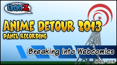webcastbeacon:  Breaking Into Webcomics   Recorded at Anime Detour 2013 with Randy Milholland, Lee Blauersouth, and Fes Works. This is part of a three panel series: The Artistic Side of Making Comics Breaking Into Webcomics The Business Side of Making Comics Recorded and Edited by Fes Works.